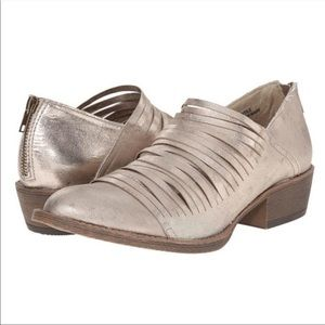 Coconuts by Matisse Meade Strappy Metallic Booties